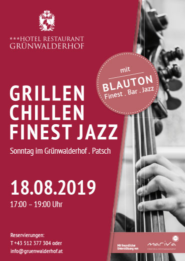 Grillen - Chillen - Finest Jazz